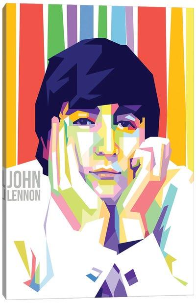 John Lennon I Canvas Art Print