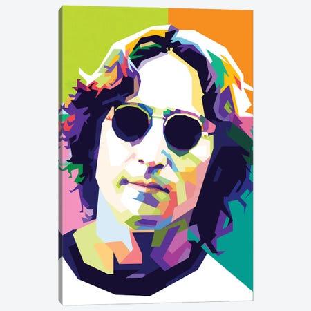 John Lennon II Canvas Print #DYB44} by Dayat Banggai Art Print