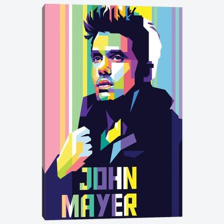 John Mayer Canvas Print #DYB45} by Dayat Banggai Canvas Art Print