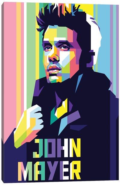 John Mayer Canvas Art Print