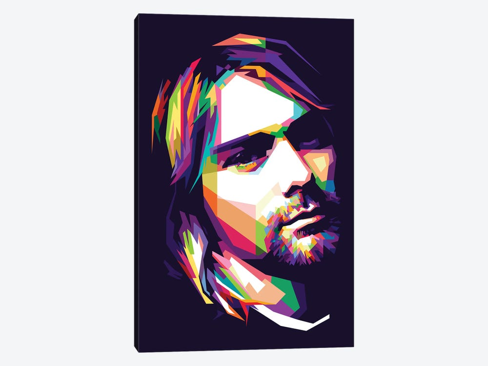 Kurt Cobain by Dayat Banggai 1-piece Canvas Print