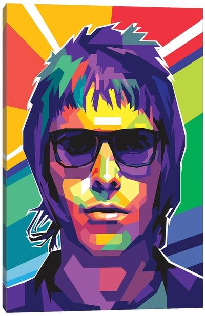 Liam Gallagher Canvas Art Print