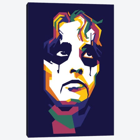 Alice Cooper Canvas Print #DYB4} by Dayat Banggai Canvas Artwork