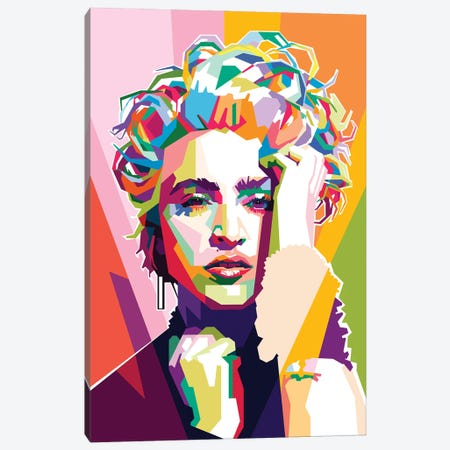 Madonna Canvas Print #DYB50} by Dayat Banggai Canvas Print