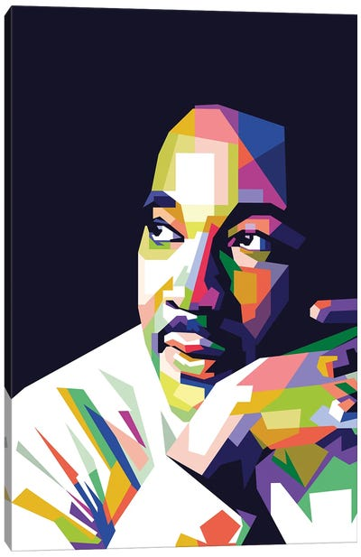 Martin Luther King Jr Canvas Art Print