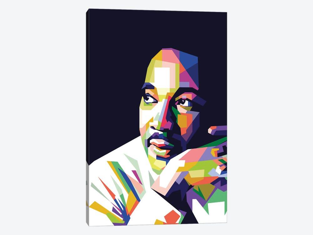 Martin Luther King Jr by Dayat Banggai 1-piece Art Print