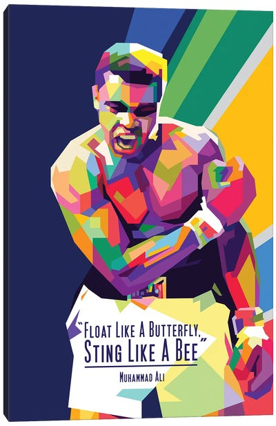 Muhammad Ali Quotes Canvas Art Print