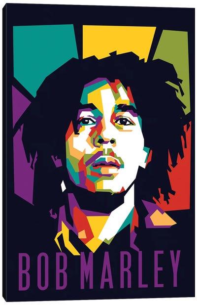 Reggae King Bob Marley Canvas Art Print