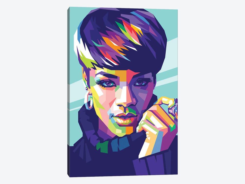 Rihanna by Dayat Banggai 1-piece Canvas Print