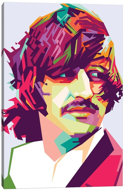 Ringo Starr I Canvas Art Print