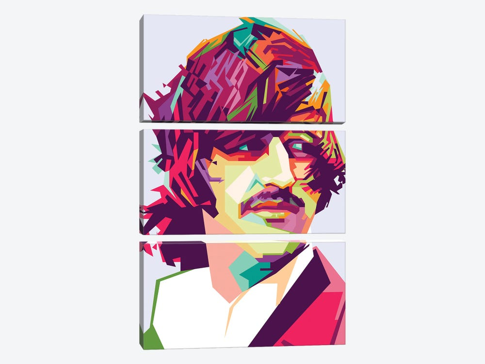 Ringo Starr I by Dayat Banggai 3-piece Canvas Wall Art