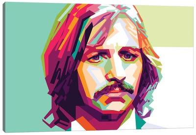 Ringo Starr II Canvas Art Print