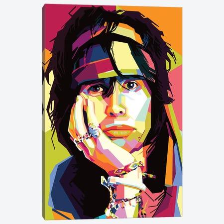 Steven Tyler I Canvas Print #DYB63} by Dayat Banggai Canvas Art