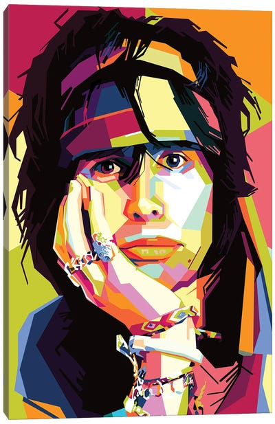 Steven Tyler I Canvas Art Print
