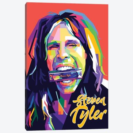 Steven Tyler II Canvas Print #DYB64} by Dayat Banggai Art Print