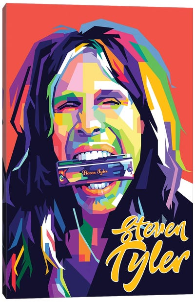 Steven Tyler II Canvas Art Print