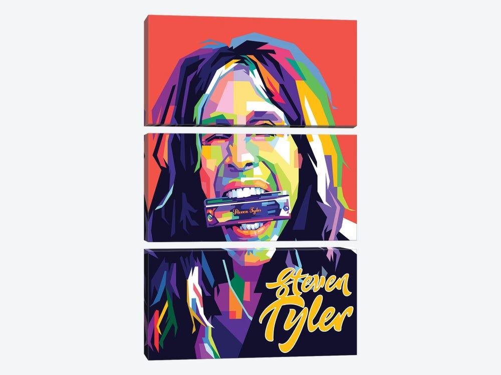 Steven Tyler II by Dayat Banggai 3-piece Art Print