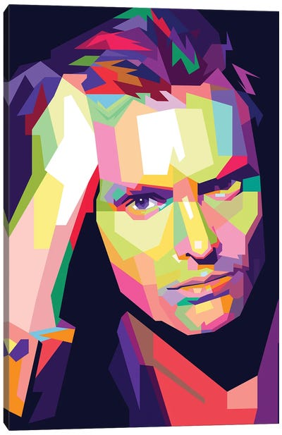 Sting Canvas Art Print