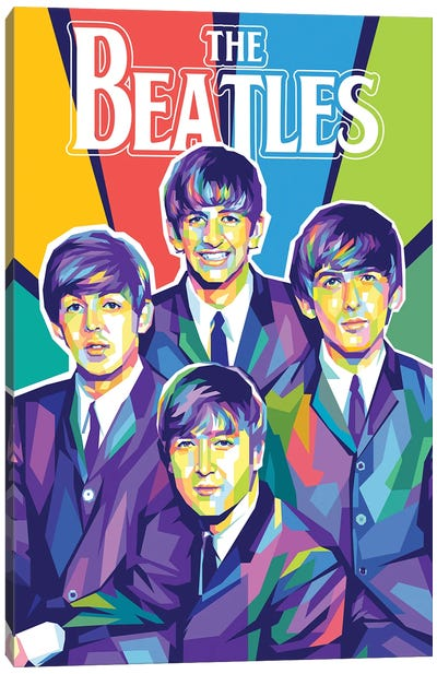 The Beatles I Canvas Art Print