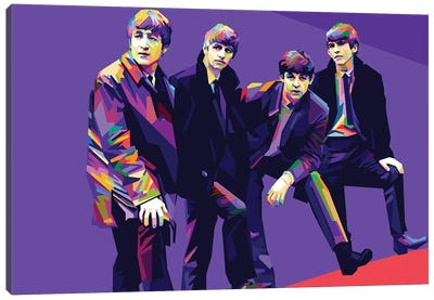 The Beatles II Canvas Art Print