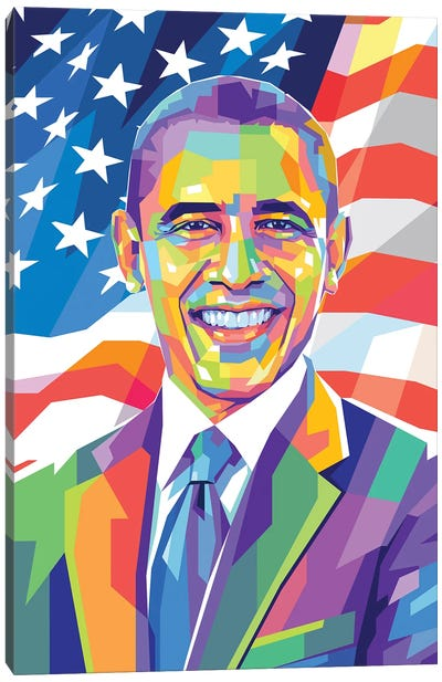 Barack Obama Canvas Art Print