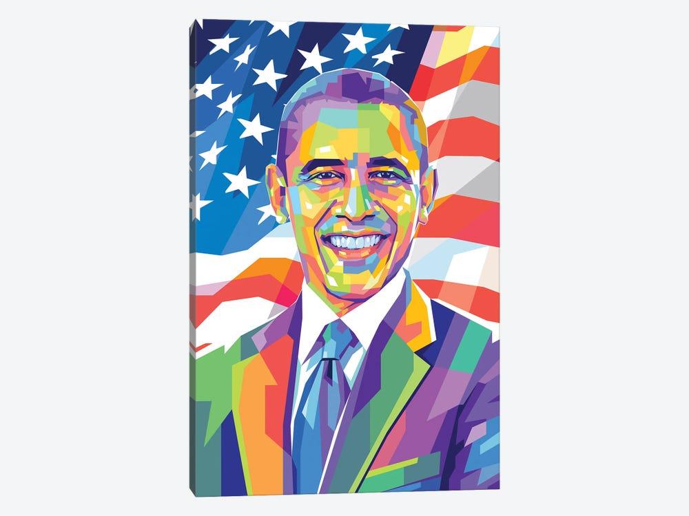Barack Obama by Dayat Banggai 1-piece Canvas Art