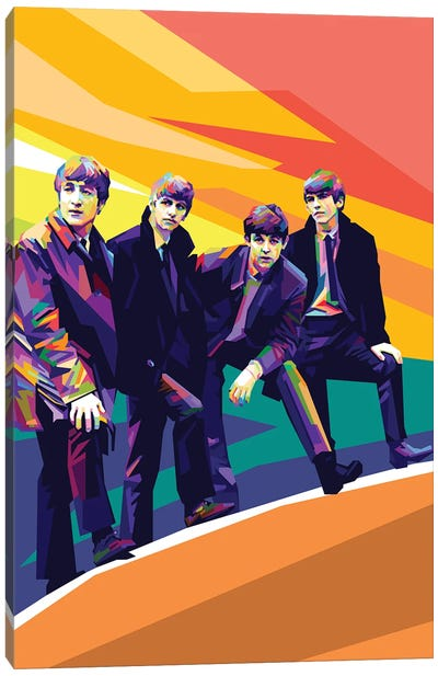 The Beatles III Canvas Art Print