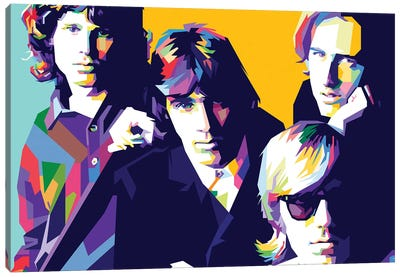 The Doors Canvas Art Print