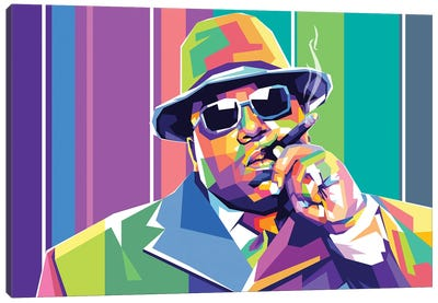 The Notorious BIG Canvas Art Print
