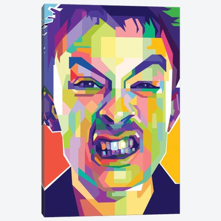 Thom Yorke I Canvas Print #DYB74} by Dayat Banggai Canvas Wall Art