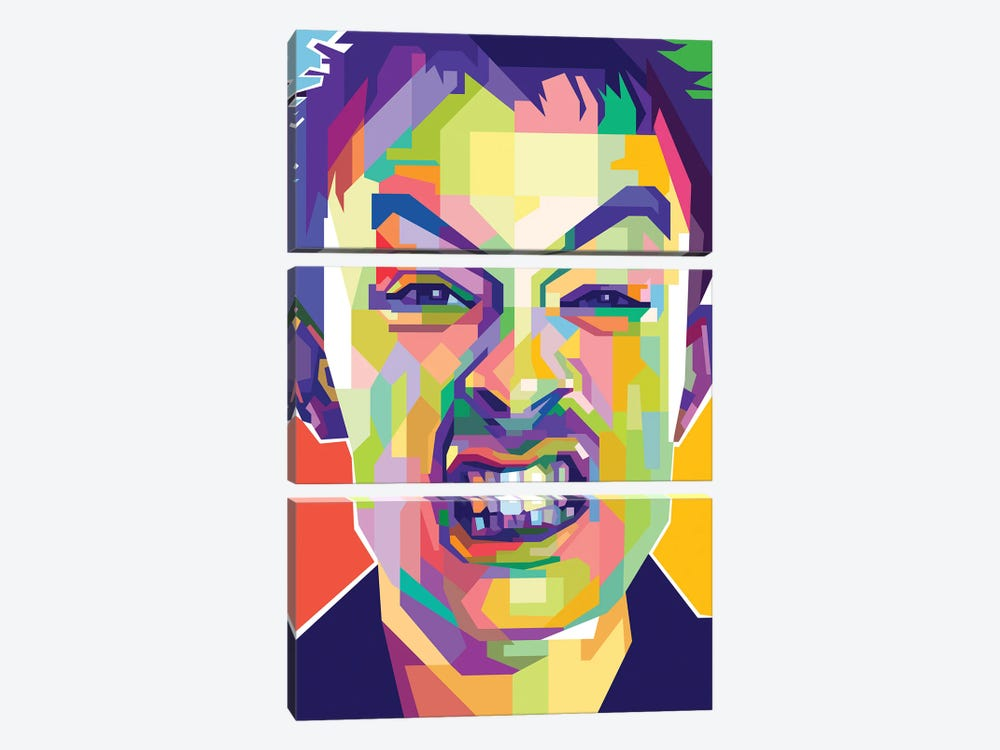 Thom Yorke I by Dayat Banggai 3-piece Canvas Artwork