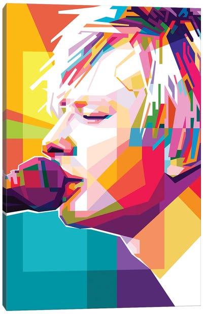 Thom Yorke II Canvas Art Print