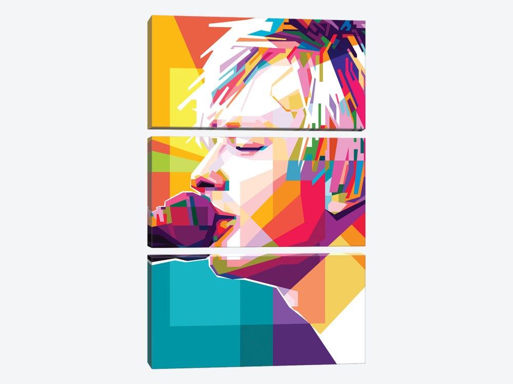 Thom Yorke II by Dayat Banggai 3-piece Canvas Print