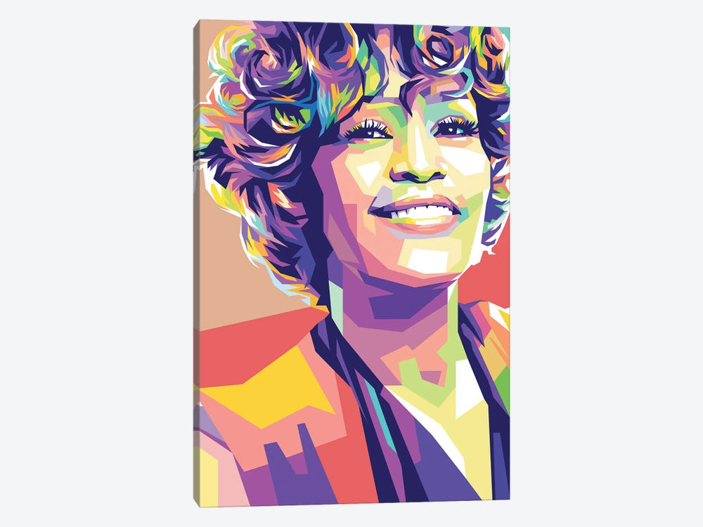 Whitney Houston by Dayat Banggai 1-piece Art Print