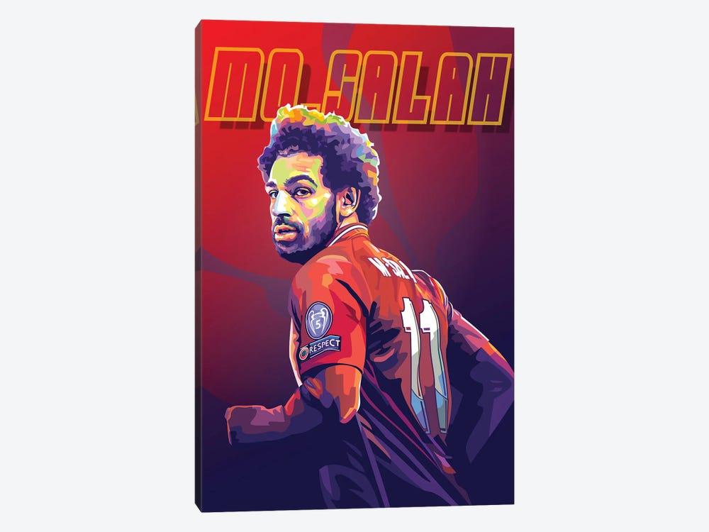 Mo Salah by Dayat Banggai 1-piece Canvas Print