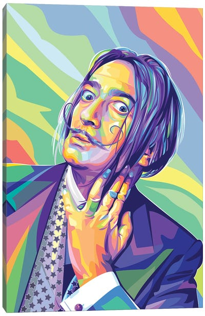 Salvador Dalí Canvas Art Print