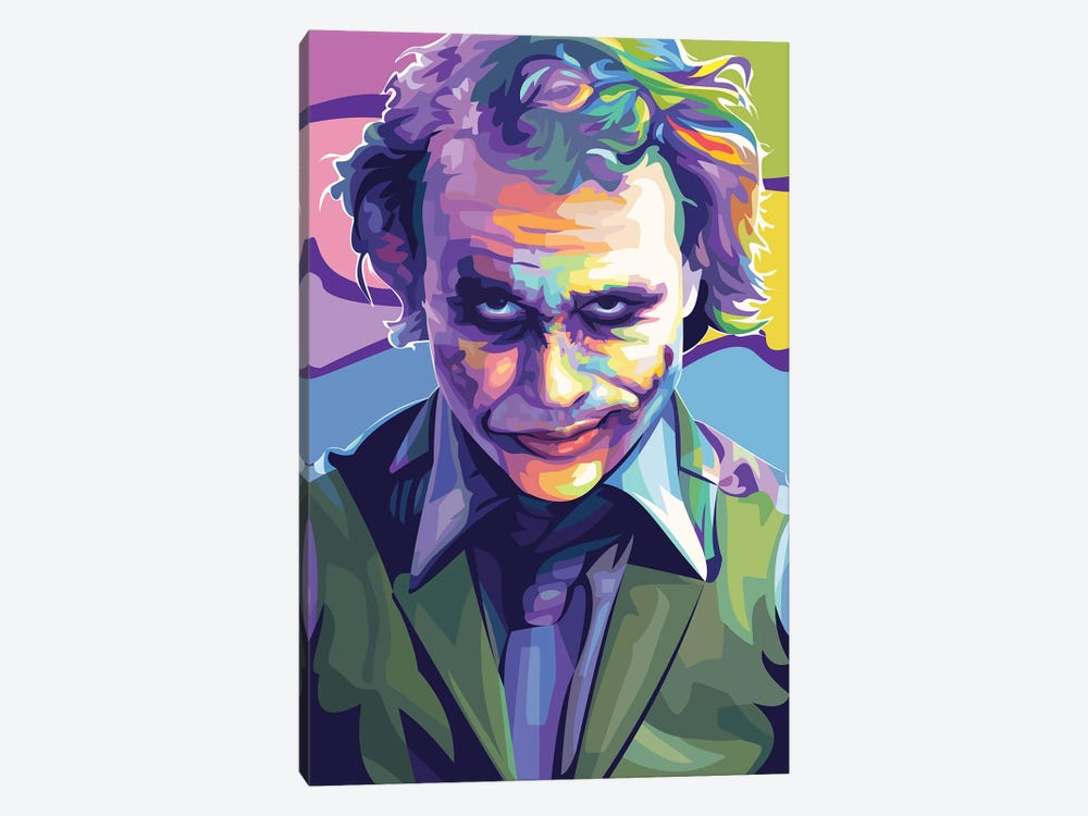 Heath Ledger Joker by Dayat Banggai 1-piece Art Print