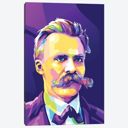 Friedrich Nietzsche Canvas Print #DYB93} by Dayat Banggai Canvas Art Print