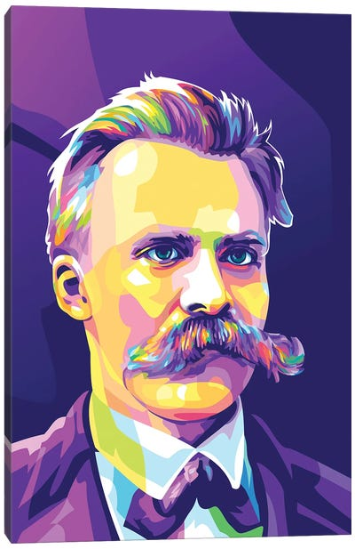 Friedrich Nietzsche Canvas Art Print