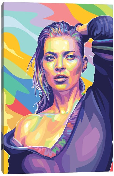 Kate Moss Canvas Art Print