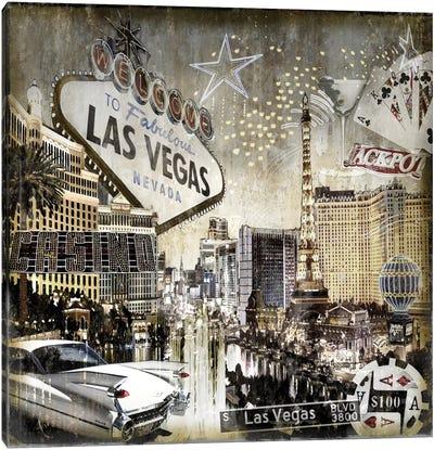 Las Vegas Canvas Art Print
