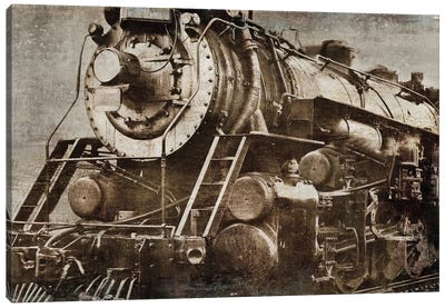 Locomotive Canvas Art Print