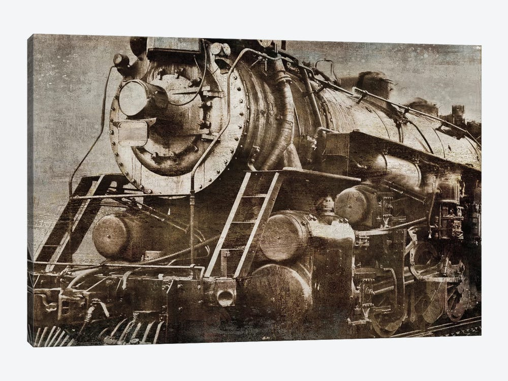 Locomotive by Dylan Matthews 1-piece Canvas Print