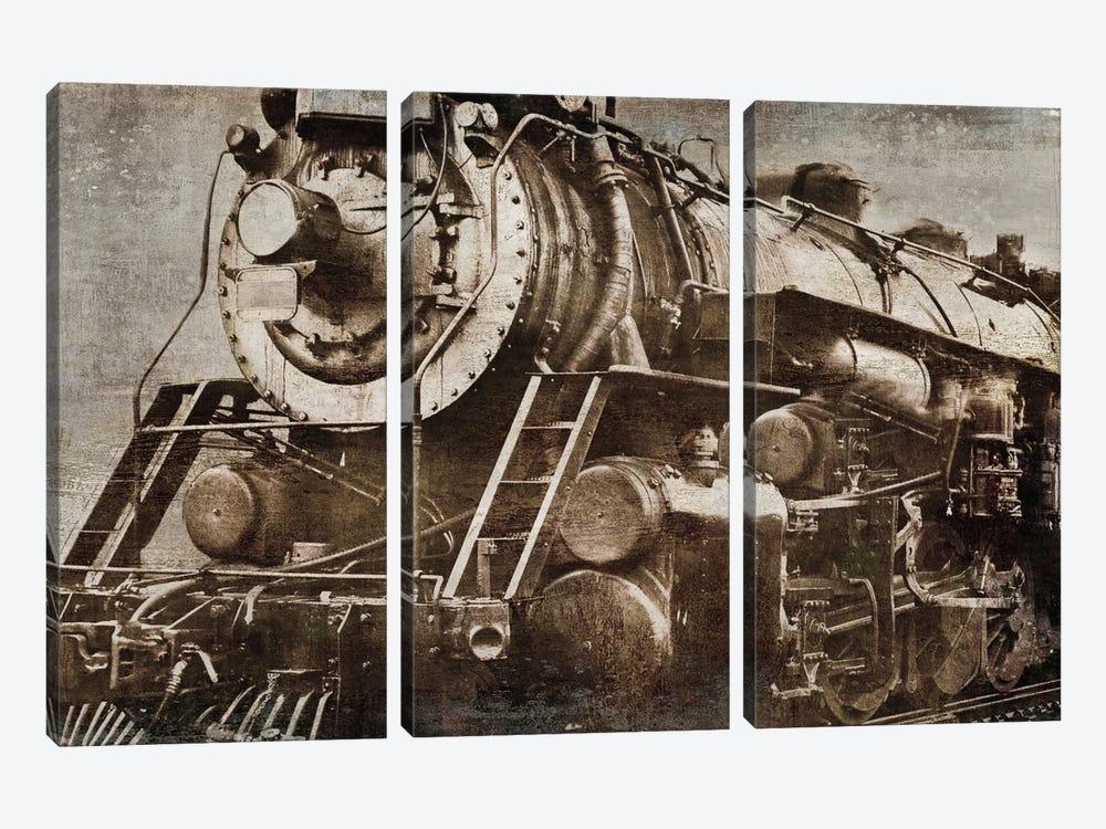 Locomotive by Dylan Matthews 3-piece Canvas Print