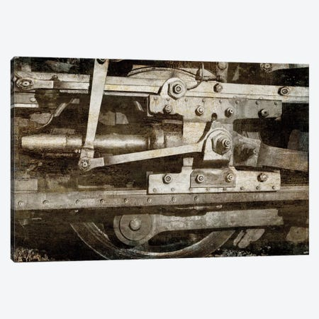Locomotive Detail Canvas Print #DYM14} by Dylan Matthews Canvas Print