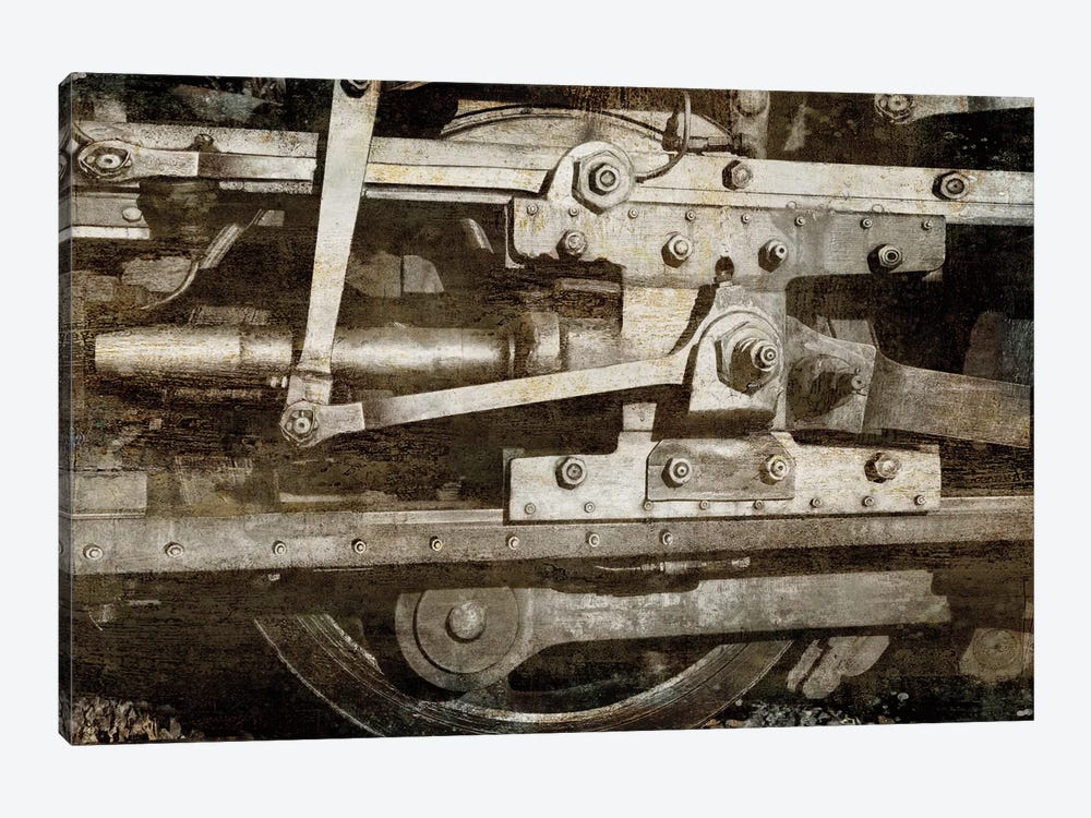 Locomotive Detail by Dylan Matthews 1-piece Canvas Wall Art
