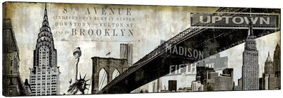 NY Perspectives Canvas Art Print