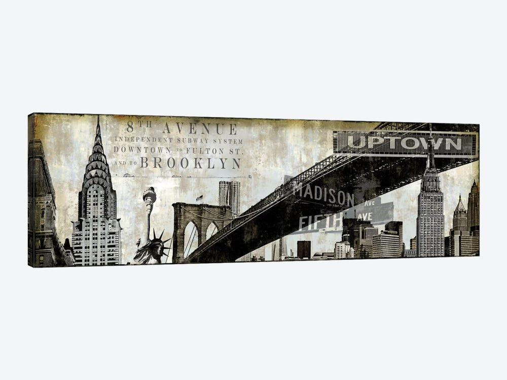 NY Perspectives by Dylan Matthews 1-piece Canvas Print