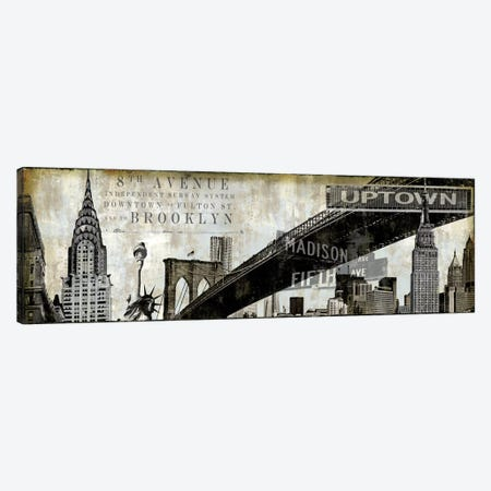 NY Perspectives Canvas Print #DYM15} by Dylan Matthews Canvas Print