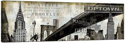 NY Perspectives Canvas Art Print